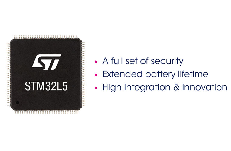 STM32L5 Ultra-Low-Power Microcontrollers for More Secured IoT Applications