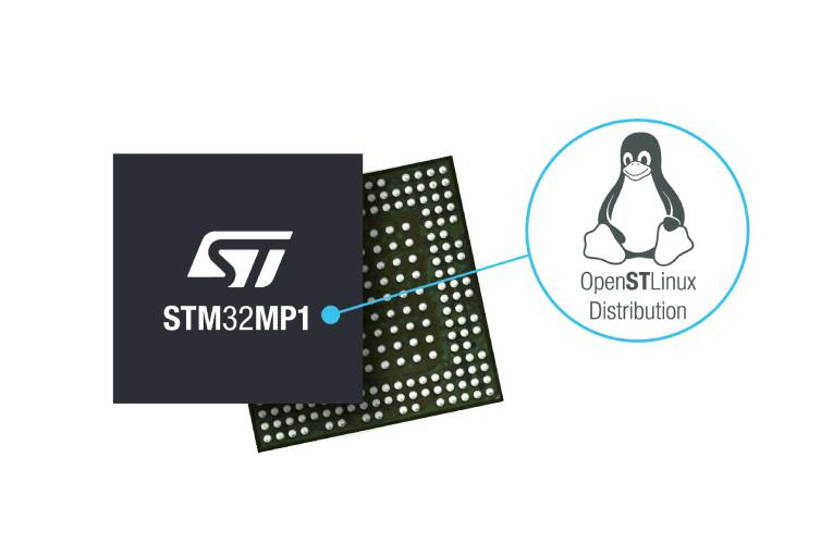 STM32MP1 Microprocessor Series with Linux Distribution to Speed IoT and Smart Industry Innovation