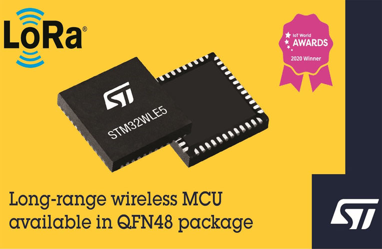 STM32WLE5 Wireless System-on-Chip from STMicroelectronics