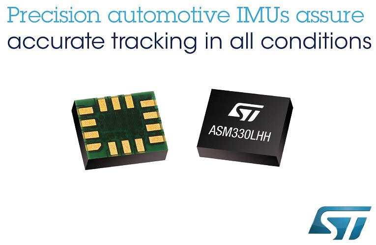 ASM330LHH an Automotive 6-axial inertial module introduced by STMicroelectronics