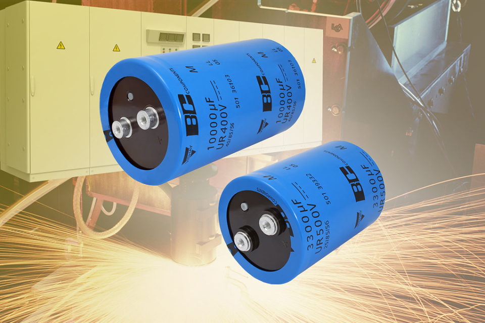 New Screw Terminal Aluminum Capacitors Offer 10% Higher Capacitance and Better Ripple Current Handling