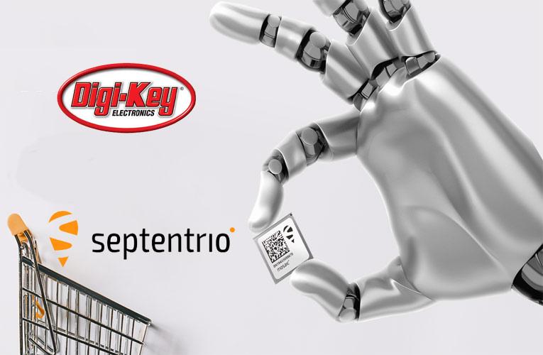 Digi-Key's Global Distribution Partnership with Septentrio