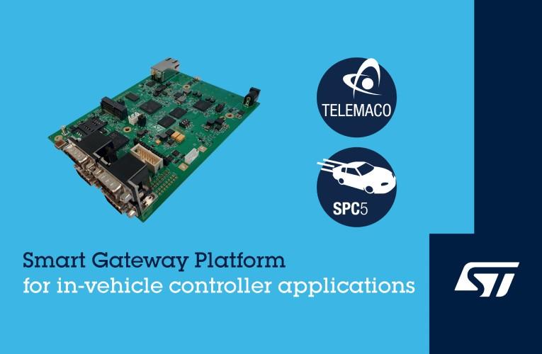 STMicroelectronics' new Smart Gateway Platform (SGP)