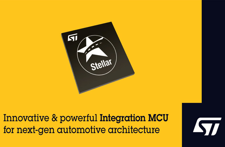 Stellar Automotive Microcontrollers from STMicroelectronics