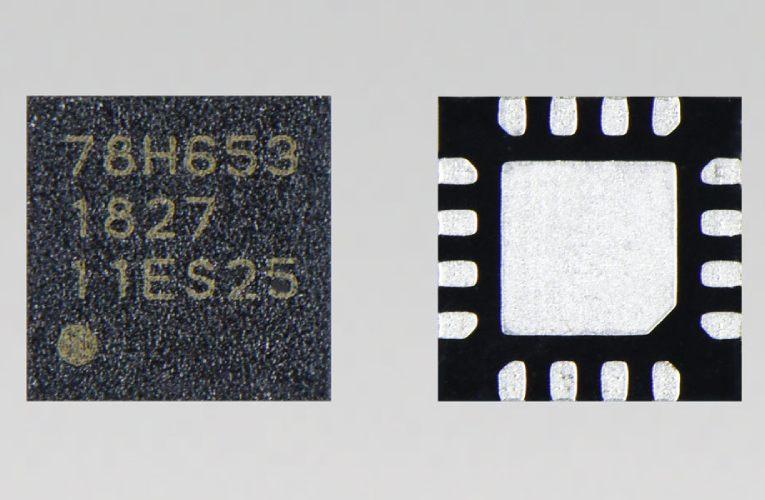 TC78H653FTG dual-H-bridge driver IC