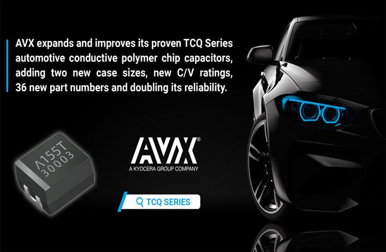 TCQ Series Automotive Conductive Capacitors