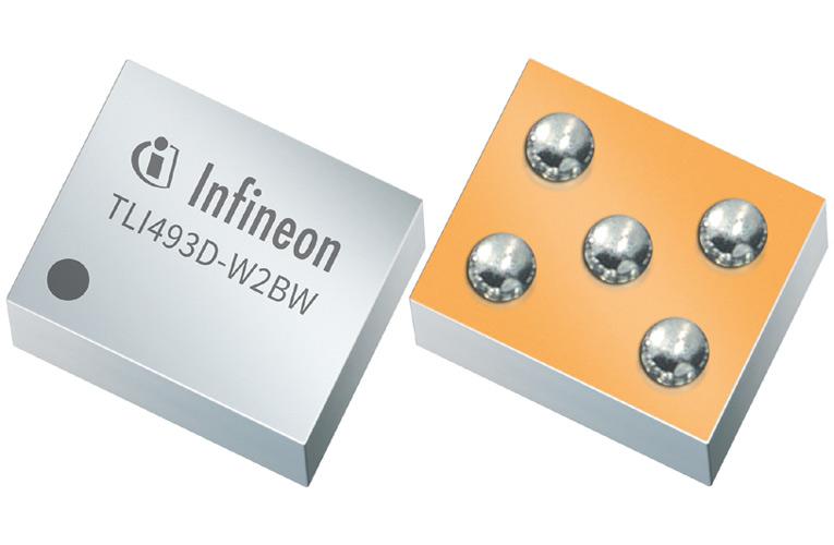 Infineon's TLI493D-W2BW 3D Magnetic Sensor