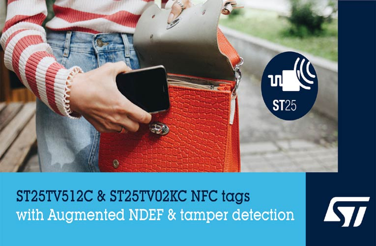 Type-5 NFC Tags from STMicroelectronics