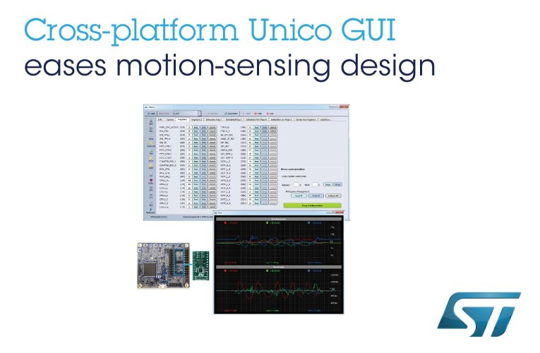 Improved GUI for Advanced Inertial Measurement Units Simplifies Custom Motion-Sensing Design