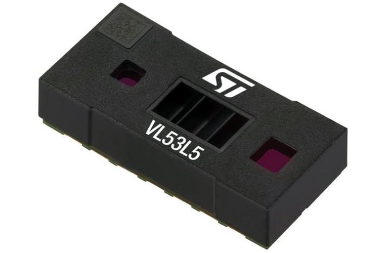 VL53L5 Time-of-Flight (ToF) Laser-Ranging Sensor from STMicroelectronics
