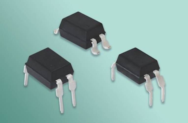 Optocouplers in Space-Saving DIP-4 and SMD-4 Packages Offer 800 V Off-State Voltage for High Robustness and Noise Isolation