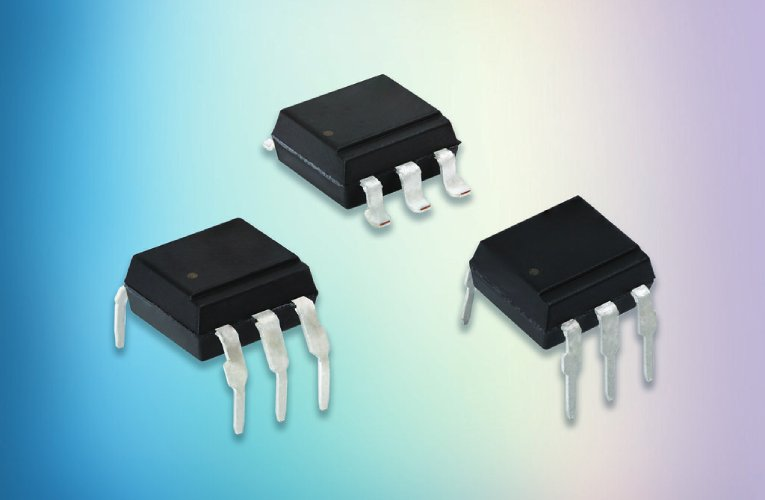 Optocouplers in DIP-6 and SMD-6 Packages Offer 800 V Off-State Voltage for High Robustness and Noise Isolation