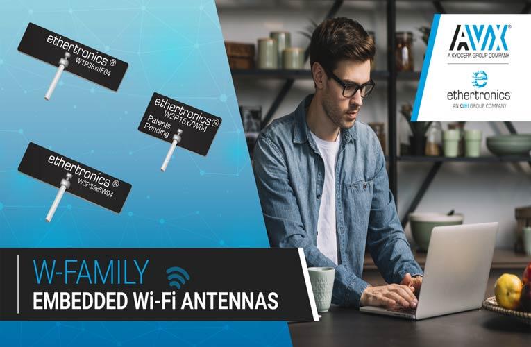 Ultra Miniature W Series Embedded Wi-Fi Antennas