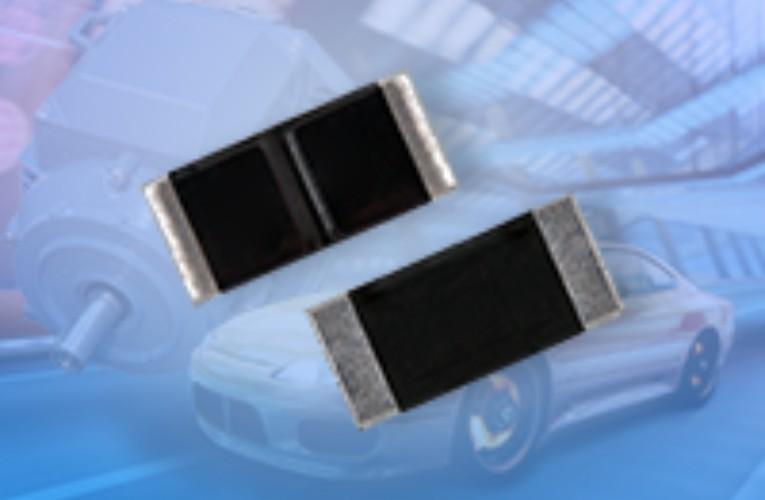Automotive Grade WFM Power Metal Plate Current Sense Resistors Offer High Power and Wide Resistance Range