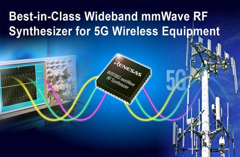 8V97003 Wideband mmWave Synthesizer