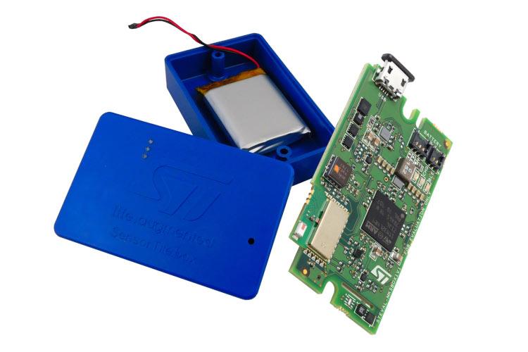 Sensortile.box – Wireless multi sensor development kit from ST for IoT and Wearable sensor applications