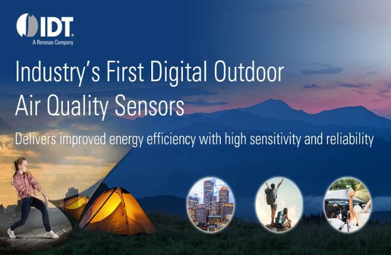 Digital Outdoor Air Quality Sensor Targeting Ozone and NOx Gases for High Volume Applications