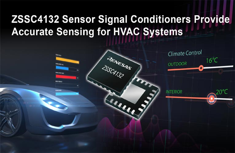 ZSSC4132 Automotive Pressure Sensor from Renesas