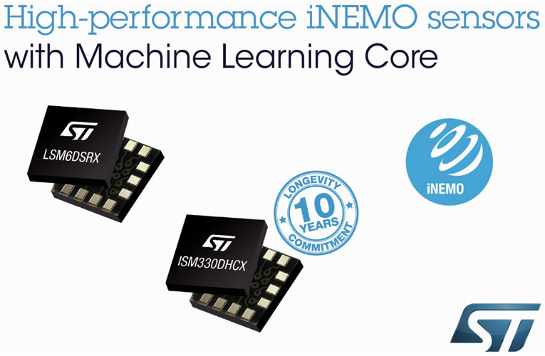 ISM330DHCX and LSM6DSRX iNEMO Sensors