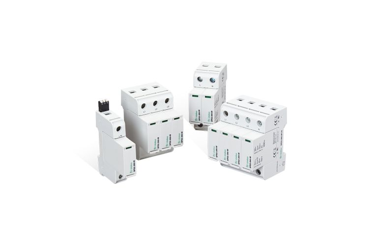 SPD2 Type 2 Surge Protection Device (SPD) in a Wide Range of Operating Voltages