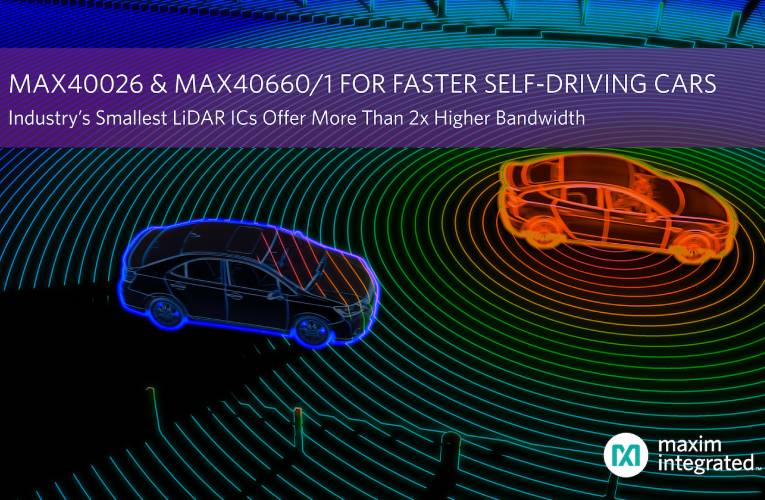 LiDAR ICs for Self Driving Cars