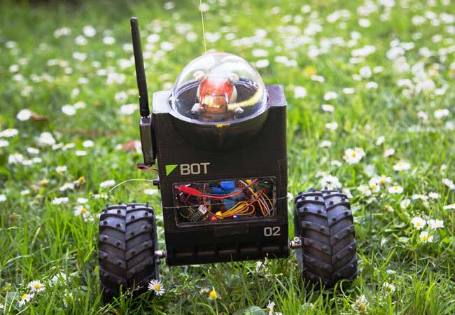 ArduRoller - An Arduino Based Self Balancing Robot
