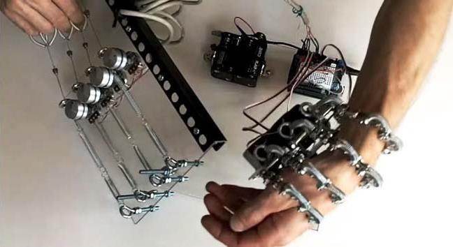 Diy robotic hand using arduino