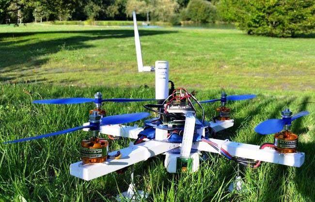 Raspberry Pi Camera Drone
