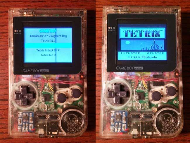 Raspberry Pi Gameboy Pocket