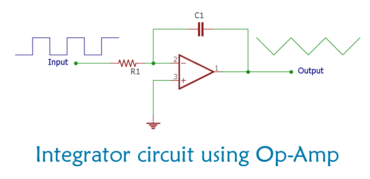 Op Amp Integrator Circuit: Construction, Working and