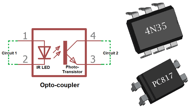 What Is Optocoupler Its Types And Various Application In Dcac Circuits