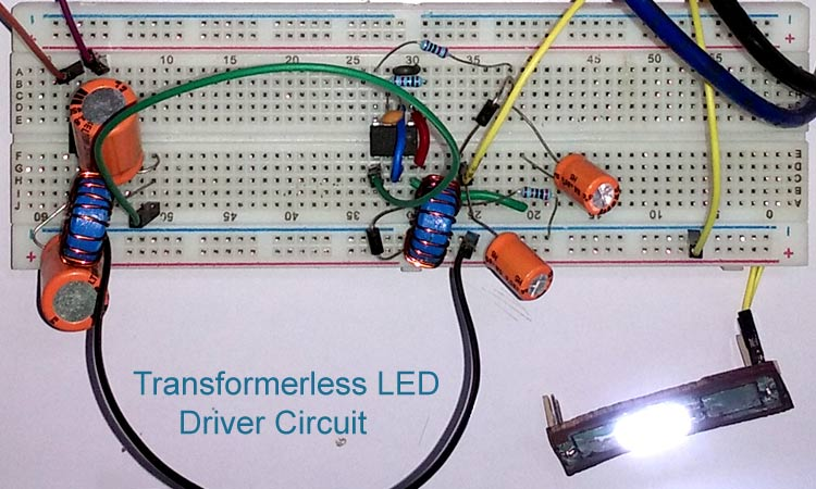 Transformerless LED Driver Circuit for Reliable Low Cost LED Bulb Designs