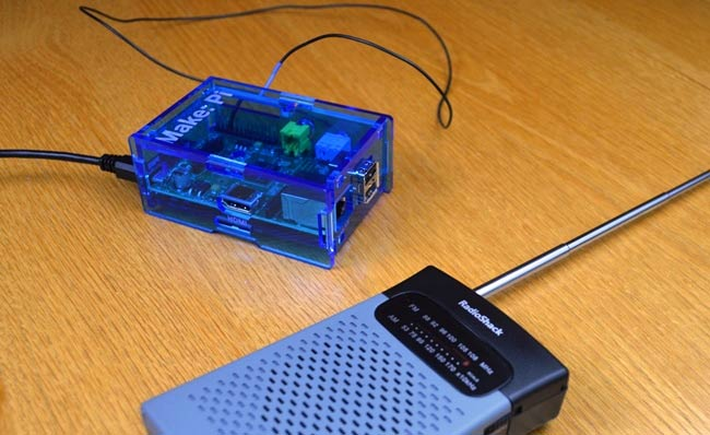Raspberry Pi FM Radio