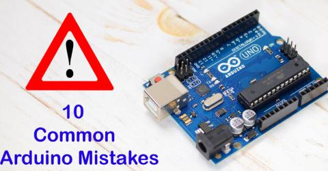 10 Most Common Mistakes while using Arduino