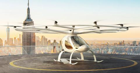 Air Taxi Future of Transportation