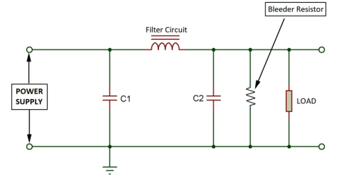 What is Bleeder Resistor and where it is used?