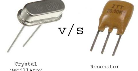 Crystal Oscillator Vs Resonator