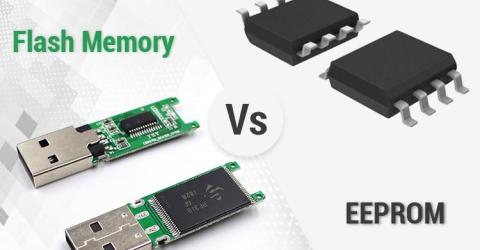 Difference Between Flash Memory and EEPROM