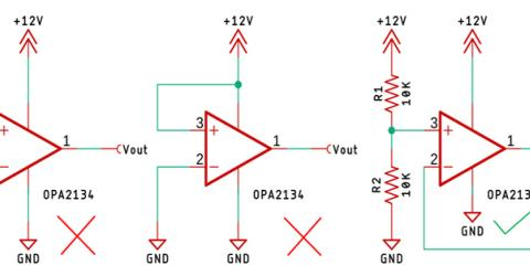 Terminating an unused OP-Amp