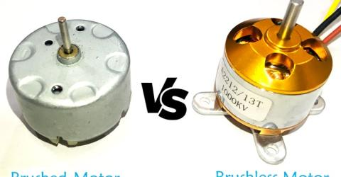 Brushed vs Brushless Motors: Operation, Construction and Applications