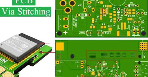 Via Stitching for PCB Design