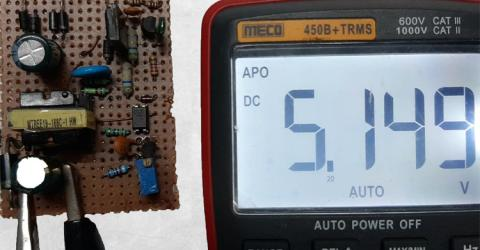 SMPS Power Supply Board Testing