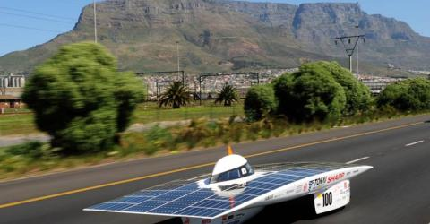 Solar Powered Electric Cars
