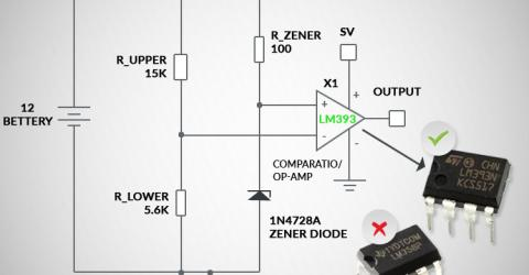 Difference Between Op-Amp and Comparator