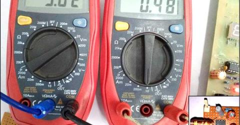 3.7V to 5V Boost Converter Circuit using MC34063
