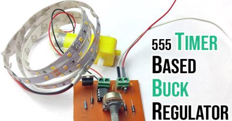 555 Timer based Buck Regulator