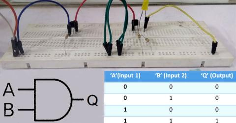Designing an AND Gate using Transistors