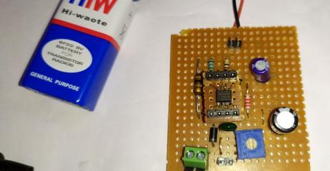 Boost Converter Circuit using MC34063