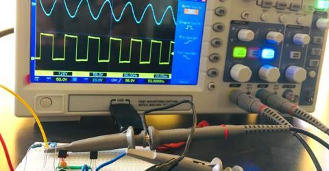 Bootstrap Amplifier Circuit using Transistors