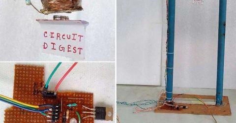DIY Homemade Electromagnetic Levitation Device